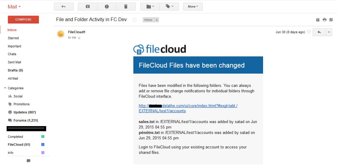 filechange email