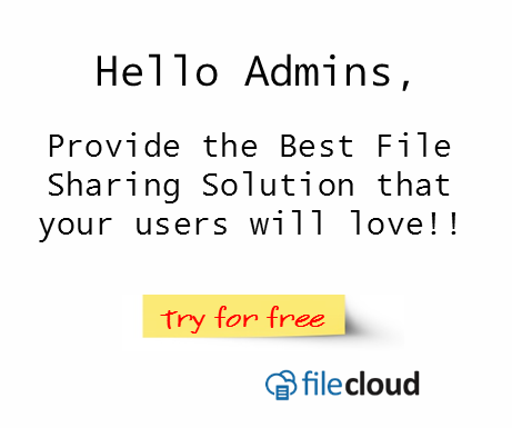 try filecloud