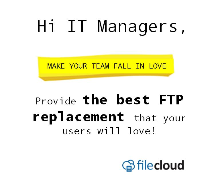 admin ftp replacement