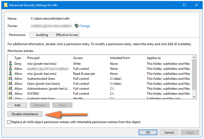 IT Admin Guide to NTFS File and Folder Permissions